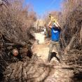 Matt dominating with the sledgehammer